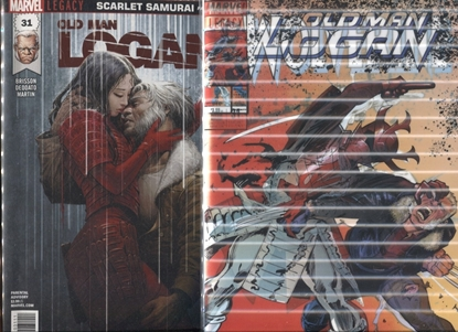 Picture of OLD MAN LOGAN #31 / 1ST PRINT + 3D LENTICULAR COVER NM+
