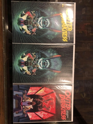 Picture of OUTER DARKNESS #1 / 1ST PRINT + VIRGIN + #2 1ST PRINT NM