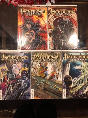 Picture of PATHFINDER RUNESCARS #1 2 3 4 5 / COVER B VARIANT SET RPG MAP