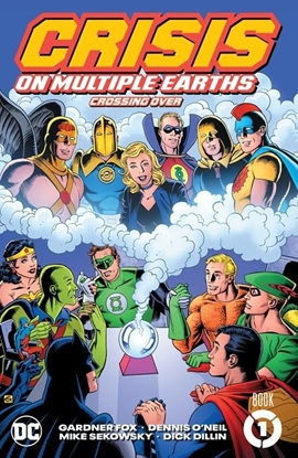 Picture of CRISIS ON MULTIPLE EARTHS BOOK 1 CROSSING OVER TP