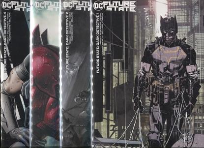 Picture of FUTURE STATE BATMAN DARK DETECTIVE #1 2 3 4 / COVER B VARIANT SET BERMEJO DELL'OTTO NM