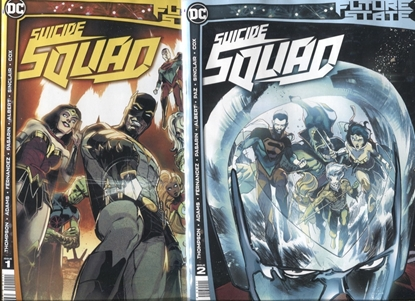 Picture of FUTURE STATE SUICIDE SQUAD #1-2 / COVER A 1ST PRINT SET NM
