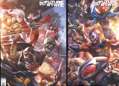 Picture of FUTURE STATE SUICIDE SQUAD #1-2 / COVER B DERRICK CHEW VARIANT SET NM