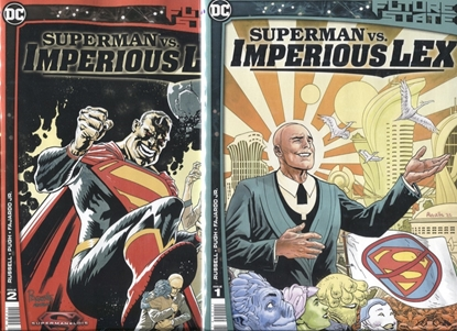 Picture of FUTURE STATE SUPERMAN VS IMPERIOUS LEX #1-2 / COVER A 1ST PRINT SET NM