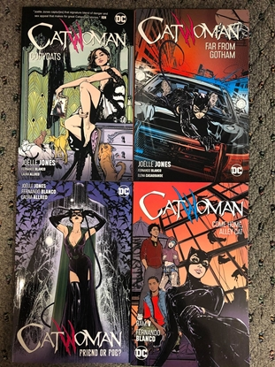 Picture of CATWOMAN (2019) VOLUME 1 2 3 4 TPB SET / REPS #1-28 JOELLE JONES