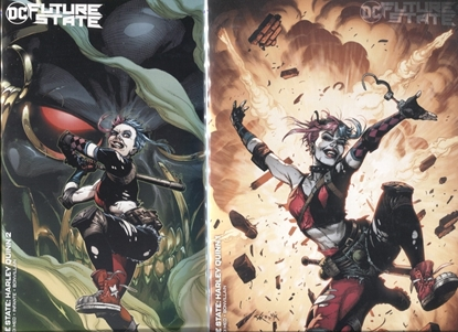 Picture of FUTURE STATE HARLEY QUINN #1-2 / COVER B GARY FRANK VARIANT SET NM