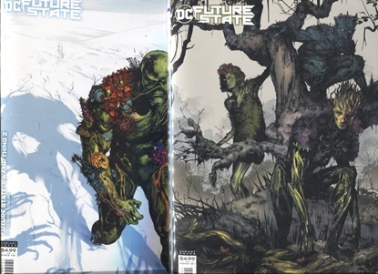 Picture of FUTURE STATE SWAMP THING #1-2 / COVER B DIMA IVANOV VARIANT SET NM