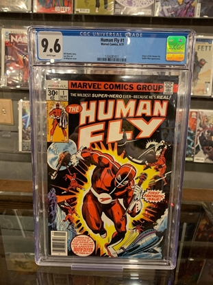 Picture of HUMAN FLY #1 CGC 9.6 NM+ ORIGIN & 1ST APP OF THE HUMAN FLY (ID 7456)