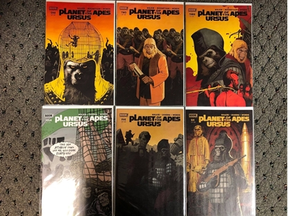 Picture of PLANET OF THE APES URSUS #1 2 3 4 5 6 / 1ST PRINT SET BOOM! WALKER NM
