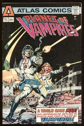 Picture of PLANET OF VAMPIRES (1975) #1 9.0 VF/NM