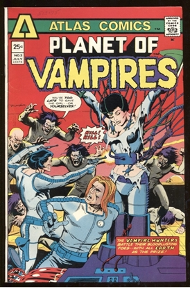 Picture of PLANET OF VAMPIRES (1975) #3 9.2 NM-