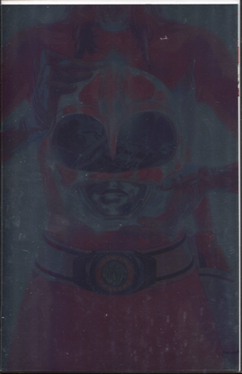 Picture of MIGHTY MORPHIN POWER RANGERS #42 FOIL MONTES VARIANT COVER