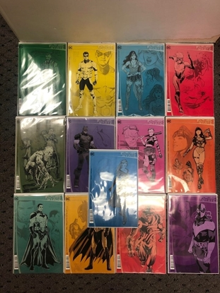 Picture of FUTURE STATE 2ND PRINT LOT OF 13 COMICS / TEEN TITANS 1, NEXT BATMAN 1,2