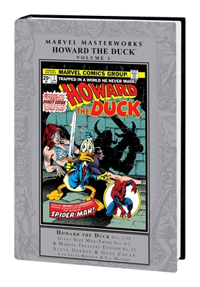 Picture of MARVEL MASTERWORKS HOWARD THE DUCK HC VOL 1