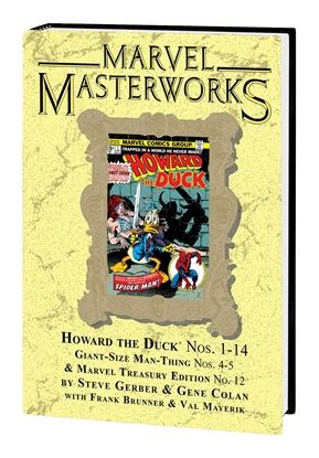 Picture of MARVEL MASTERWORKS HOWARD THE DUCK HC VOL 1 DM VARIANT ED 300