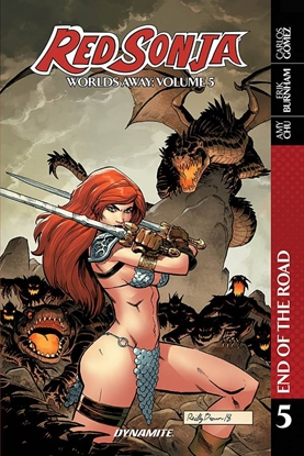 Picture of RED SONJA WORLDS AWAY TP VOL 5 END OF ROAD