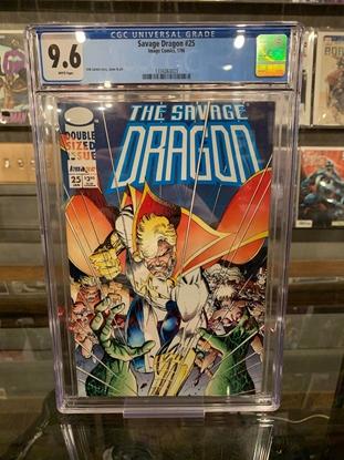 Picture of SAVAGE DRAGON #25 CGC 9.6 NM+ ERIK LARSEN COVER (ID 7362)