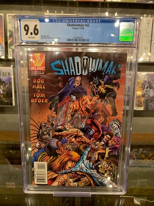 Picture of SHADOWMAN #42 CGC 9.6 NM+ HALL & RYDER COVER (ID 7363)