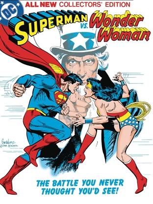 Picture of SUPERMAN VS WONDER WOMAN TABLOID ED HC
