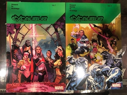 Picture of EXCALIBUR BY TINI HOWARD VOLUME 1 & 2 TPB SET