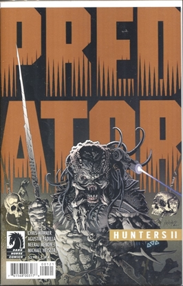 Picture of PREDATOR HUNTERS II #1 COVER B VARIANT