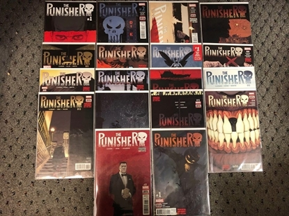 Picture of PUNISHER (2016) #1-17 + ANNUAL #1 / FULL SET CLOONAN NM