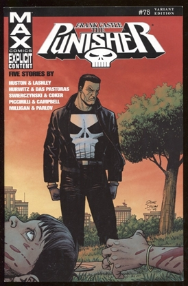 Picture of PUNISHER FRANK CASTLE MAX #75 DILLON VARIANT COVER