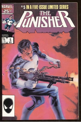 Picture of PUNISHER (1985) #5 9.2 NM-