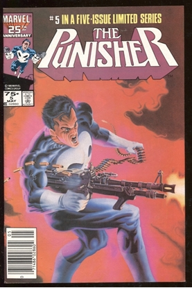 Picture of PUNISHER (1986) #5 8.5 VF+