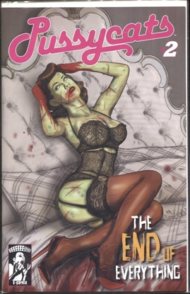 Picture of PUSSYCATS END OF EVERYTHING #2 (OF 2) PIN UP GIRL (MR)