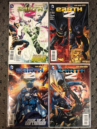 Picture of EARTH 2 #24 25 26 / 1ST VAL-ZOD / 4 ISSUE SET / N52 NEW NM
