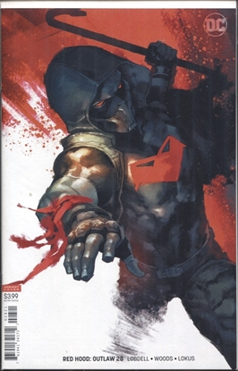 Picture of RED HOOD OUTLAW #28 VARIANT COVER
