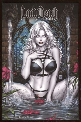 Picture of LADY DEATH MASTERS #1 MIKE KROME PREMIERE EDITION