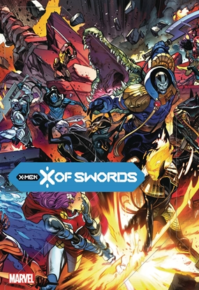 Picture of X OF SWORDS HC LARRAZ COVER