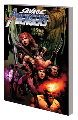 Picture of SAVAGE AVENGERS TP VOL 3 ENTER THE DRAGON