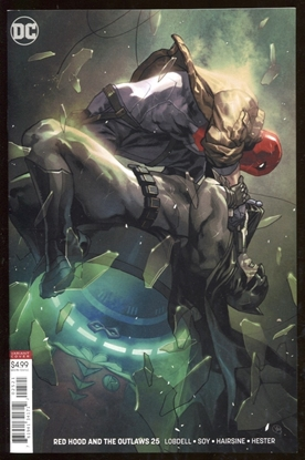 Picture of RED HOOD AND THE OUTLAWS #25 / PUTRI VARIANT COVER B ED