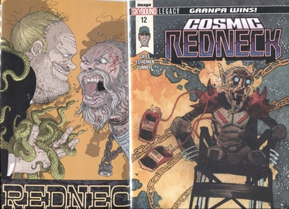 Picture of REDNECK #12 / 1ST PRINT & COSMIC VARIANT COVER SET NM