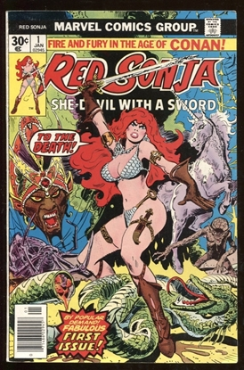Picture of RED SONJA (1977) #1 4.0 VG