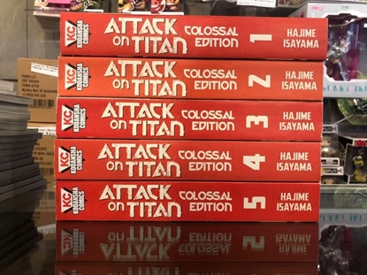Picture of ATTACK ON TITAN COLOSSAL EDITION VOLUME 1 2 3 4 5 / TPB SET