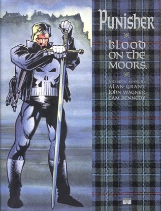 Picture of PUNISHER BLOOD ON THE MOORS GN HARDCOVER