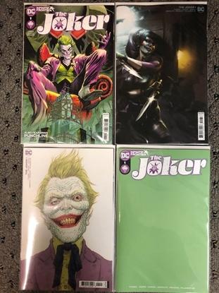 Picture of JOKER (2021) #1 / 4-COVER SET A, B, C, D MATTINA BLANK NM