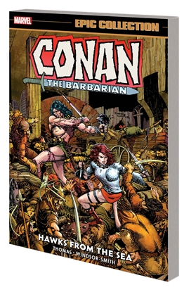 Picture of CONAN BARBARIAN EPIC COLLECTION ORIG MARVEL YEARS TP HAWKS FROM SEA