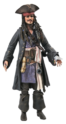 Picture of PIRATES OF THE CARIBBEAN JACK SPARROW ACTION FIGURE
