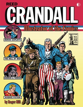 Picture of REED CRANDALL ILLUSTRATOR OF COMICS SC
