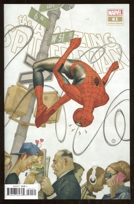 Picture of AMAZING SPIDER-MAN #61 / 1:25 TEDESCO VARIANT COVER VF