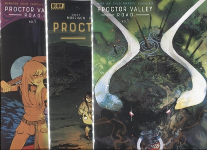 Picture of PROCTOR VALLEY ROAD #1 / COVER A B C 1:10 VARIANT SET BOOM! NM 2021