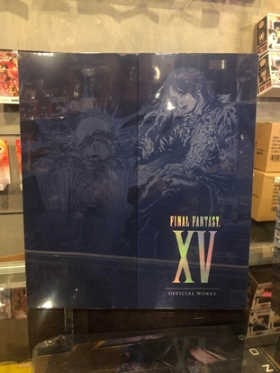 Picture of FINAL FANTASY XV OFFICIAL WORKS LIMITED EDITION HC