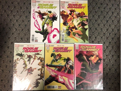 Picture of ROGUE & GAMBIT (2018) #1 2 3 4 5 / 1ST PRINT SET / NM KELLY THOMPSON