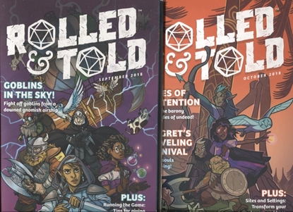 Picture of ROLLED AND TOLD #1 & 2 / LION FORGE COMIC SET SEPT/OCT NM