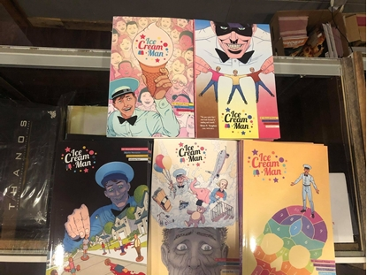 Picture of ICE CREAM MAN VOLUME 1 2 3 4 5 TPB SET / REPS #1-20 / MAXWELL PRINCE NEW
